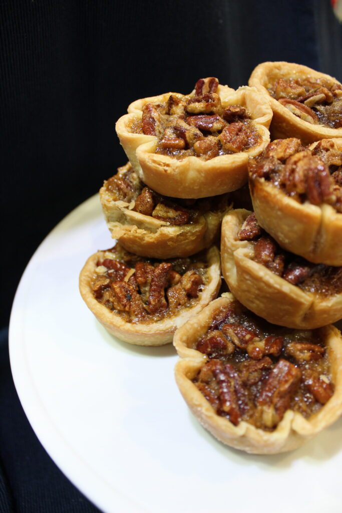 Dairy-free mini pecan pies
